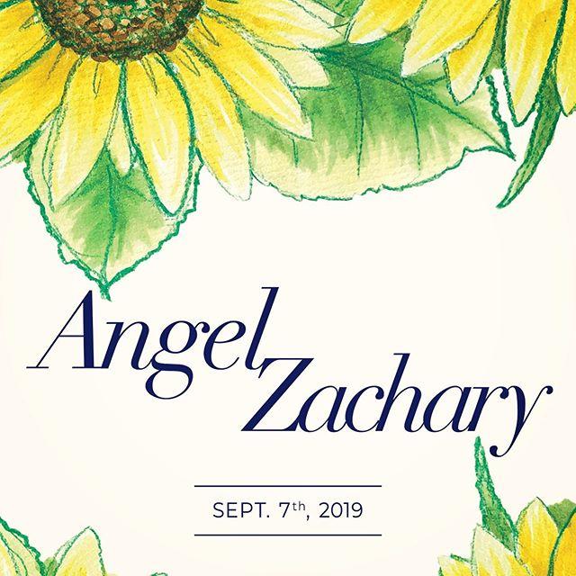 Angel & Zachary Wedding september 7th 2019