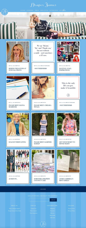 Love Reese homepage